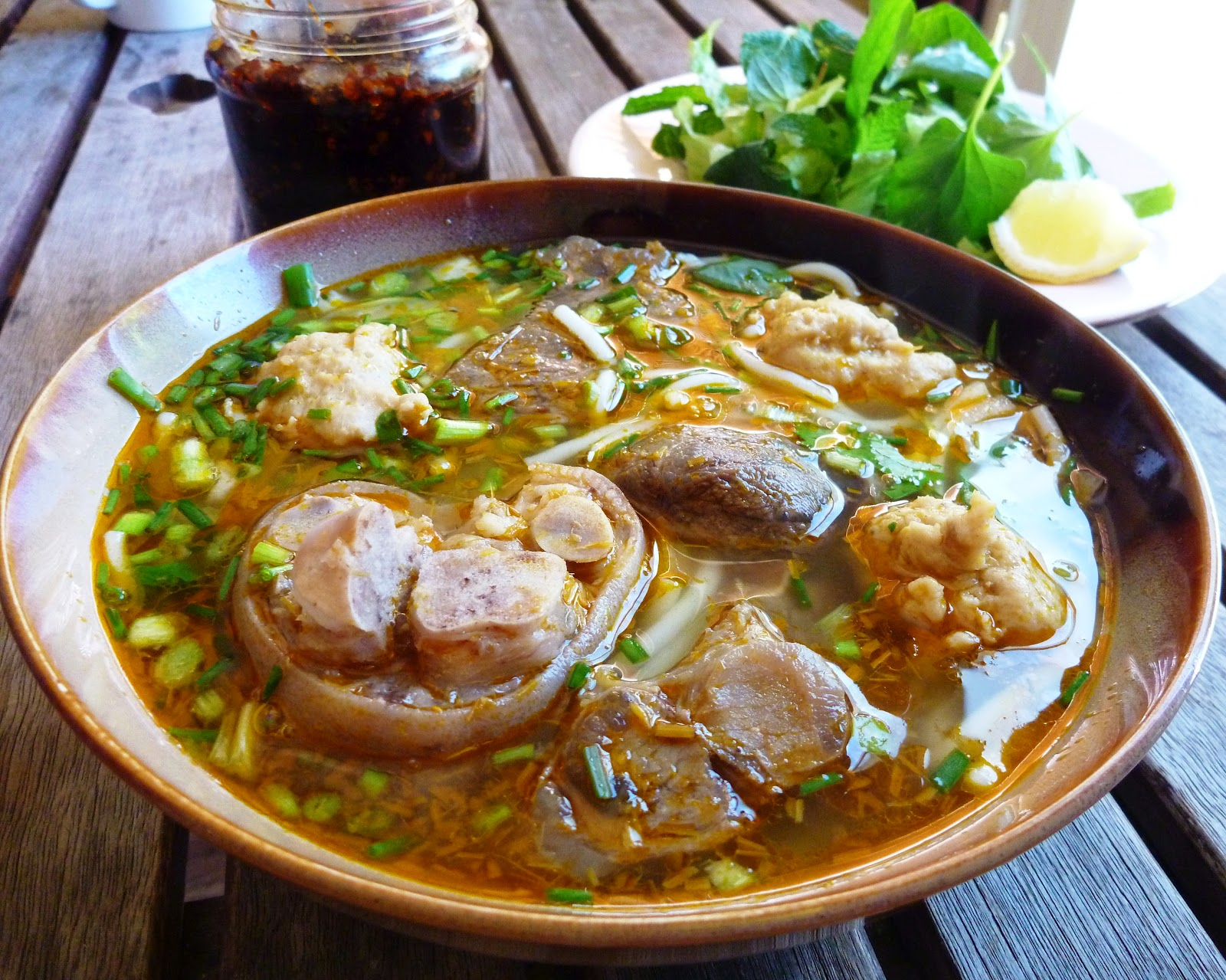 Don't forget to enjoy Bun Bo Hue when you are in Saigon