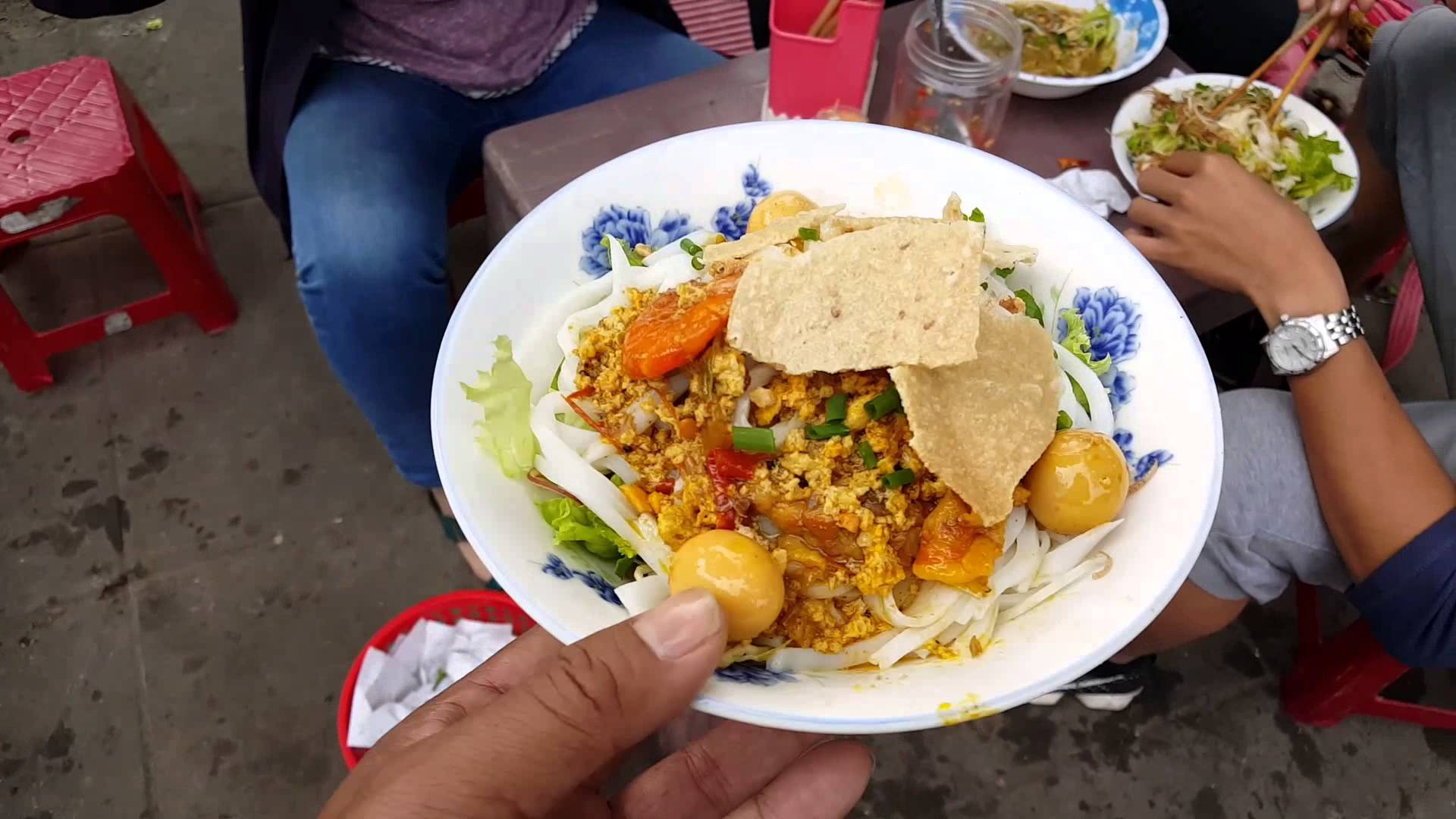 Quang noodles in Phu Chiem