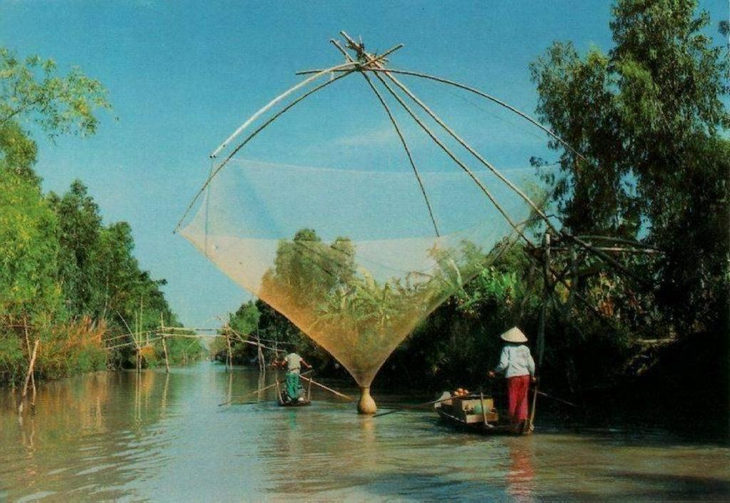 Ben Tre is a typical tropical area