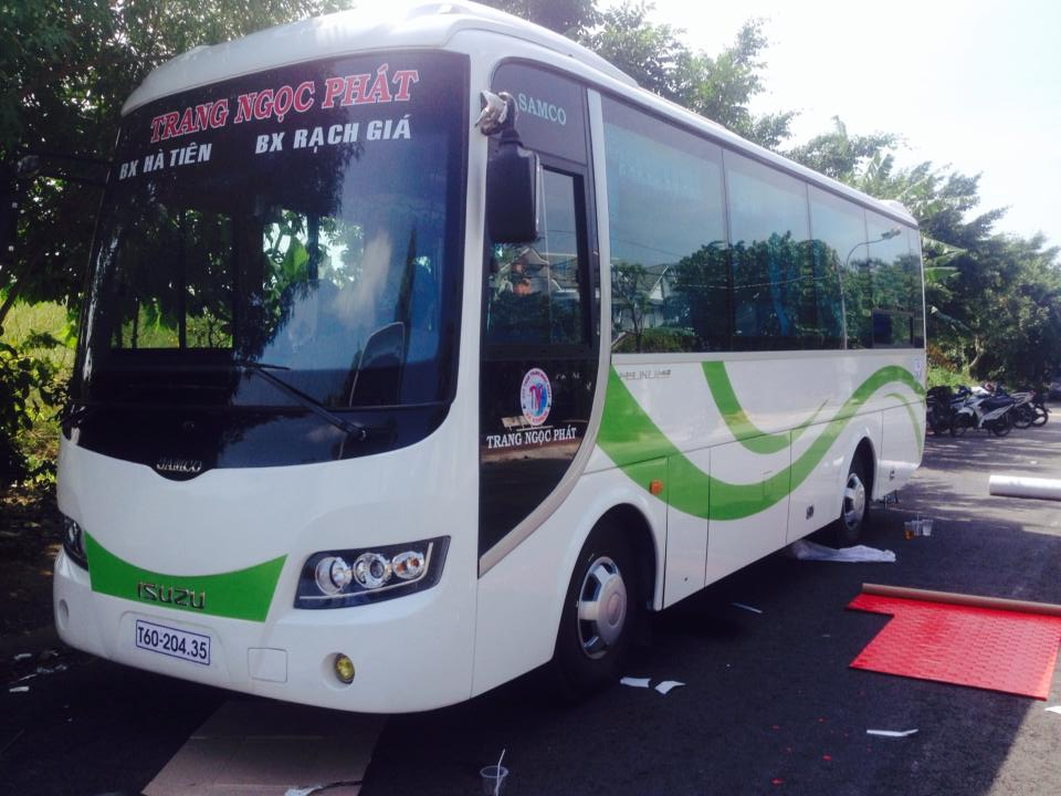 Bus to Ha Tien