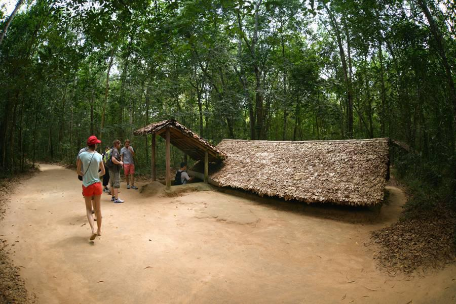 Cu Chi Tunnels small group