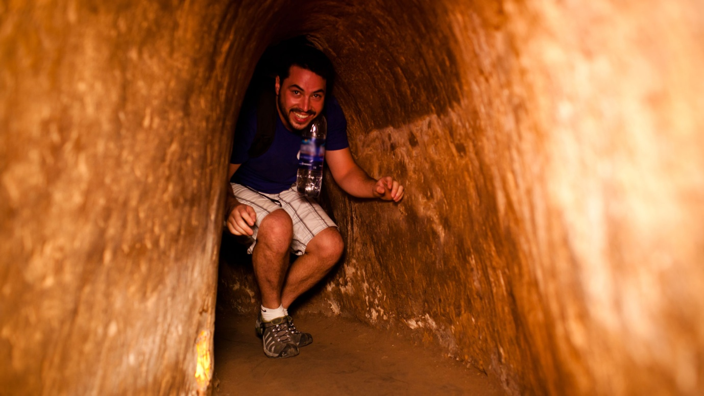 Cu Chi Tunnel in a half day tour