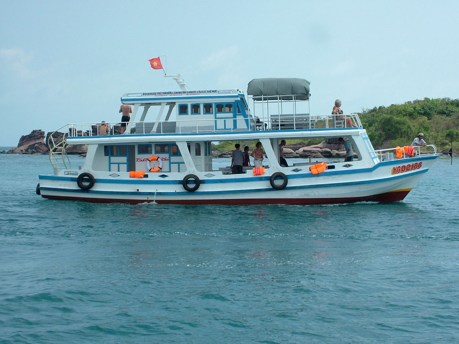 Get to Phu Quoc by sea