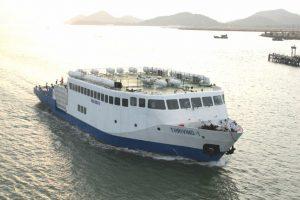 Ha Tien by sea