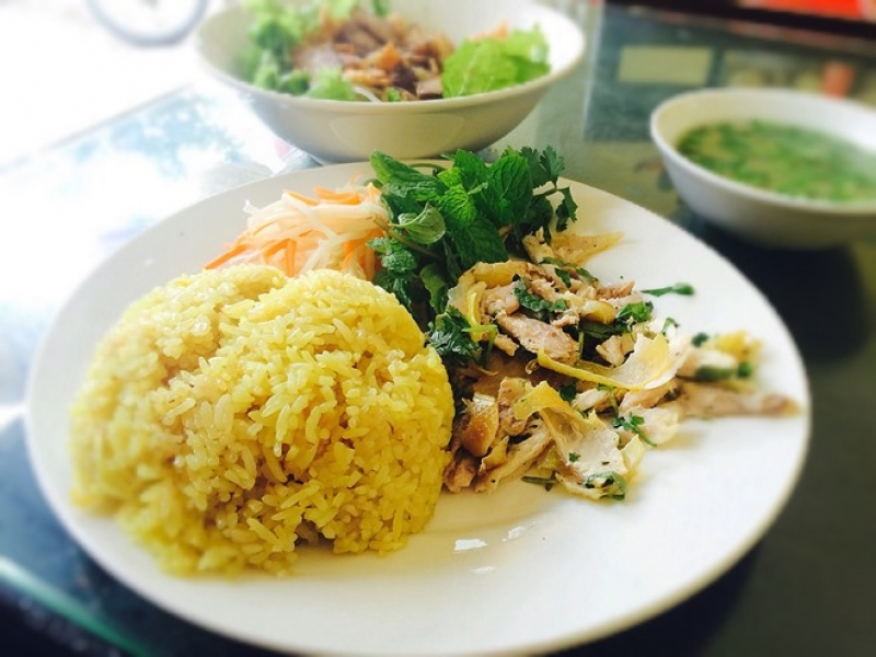 Hoian chicken rice