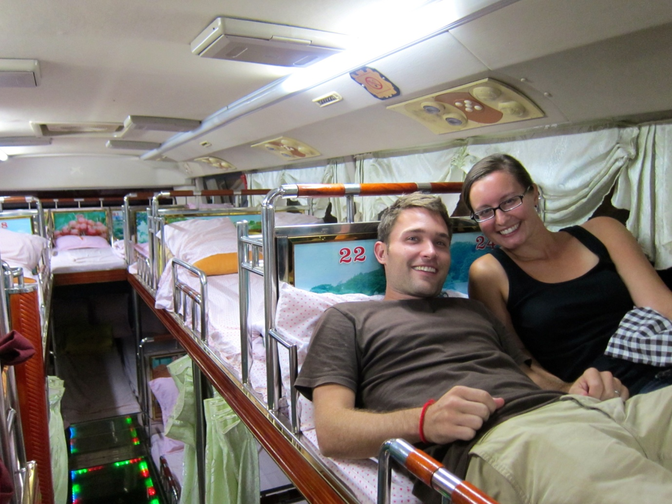 Sleeper bus to Luang Prabang