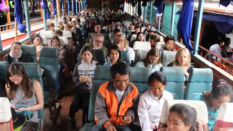 From Huay Xai to Luang Prabang