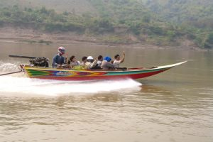 Speed boat to Luang Prabang