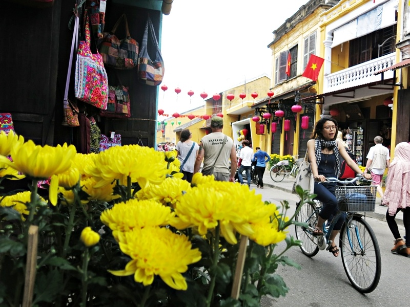 The beauty of Hoian during Tet Holiday