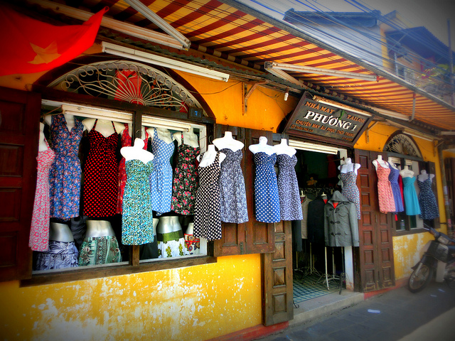 There are not many shops opening during Tet