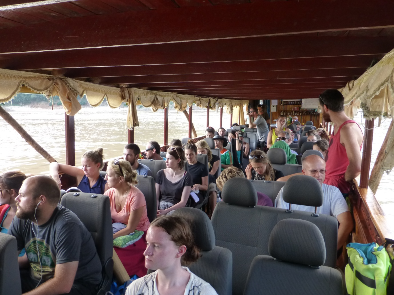 Traveling by slow boat is an amazing part of your itinerary