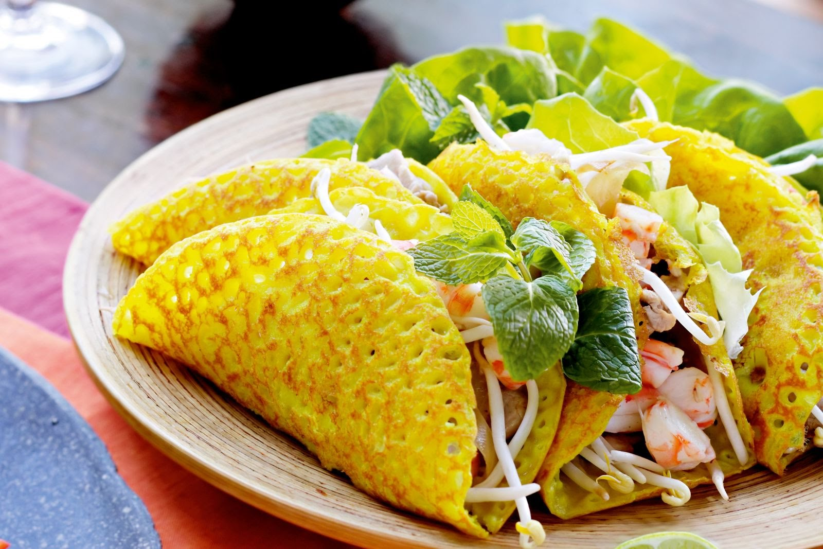 Banh Xeo is a must-try dish in Mekong area