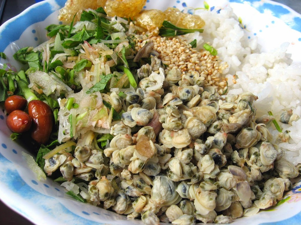 Mussel rice in Hoian