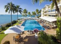 A beautiful corner of Coral Sea Resort