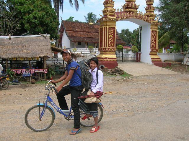Dry season in Laos