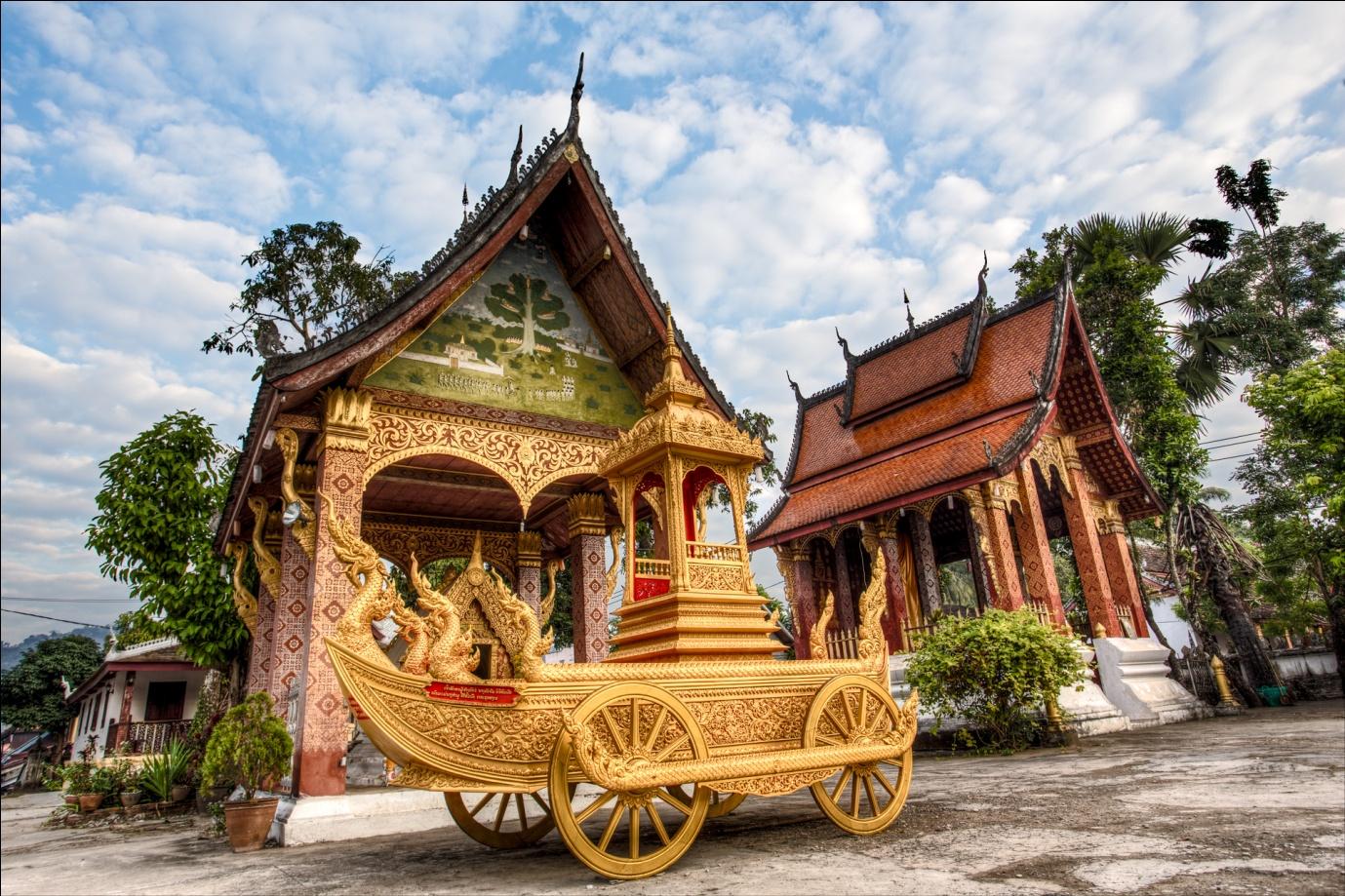 Luang Prabang in March