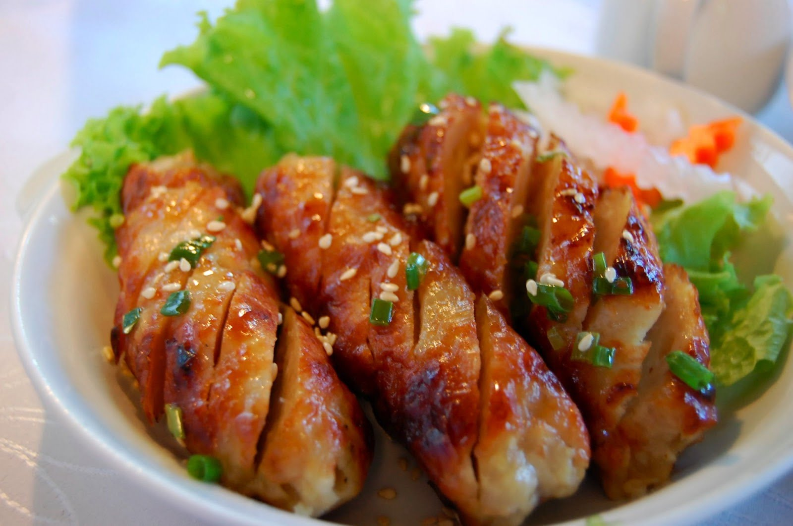 Nem nuong is the first must-try dish in Can Tho