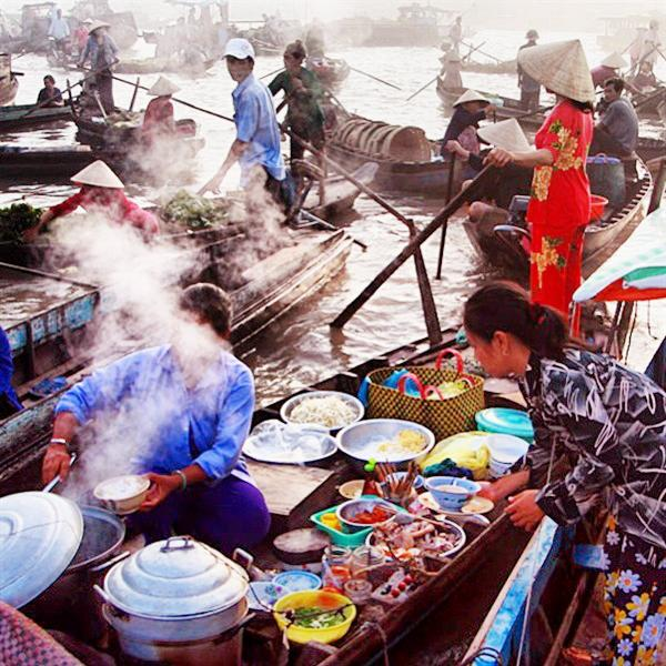 What to eat in Mekong Delta? Get ready for some smelly moments!
