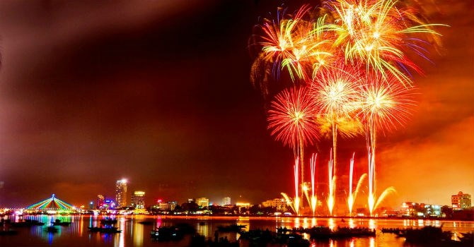 Firework performance will be held in Danang in April 30th