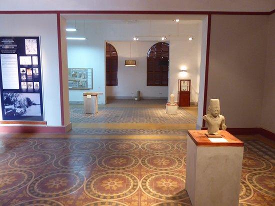 Inside Kampot Museum