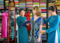 Tailors in Hoi An will help you to have the best clothes