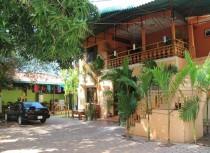 The green space in Advisor Angkor Villa
