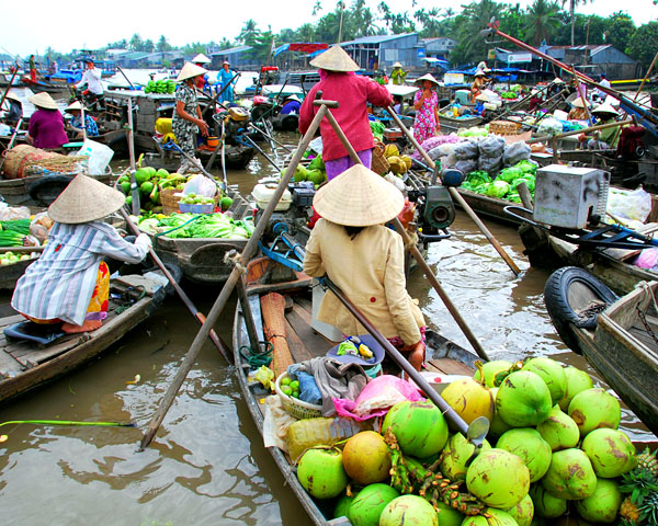 Can Tho- the heart of the Mekong Delta