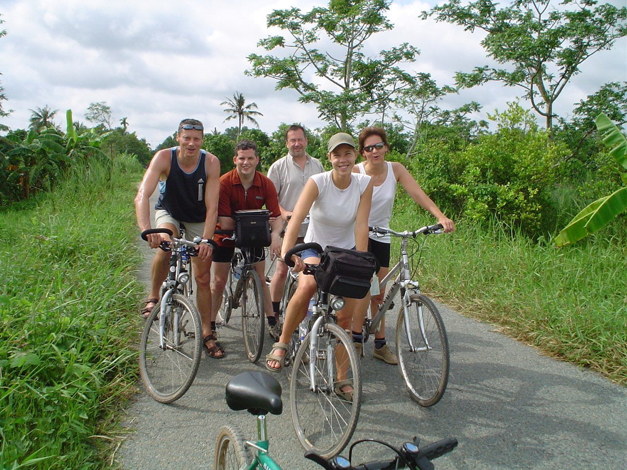 Cycling day trip in the Mekong Delta