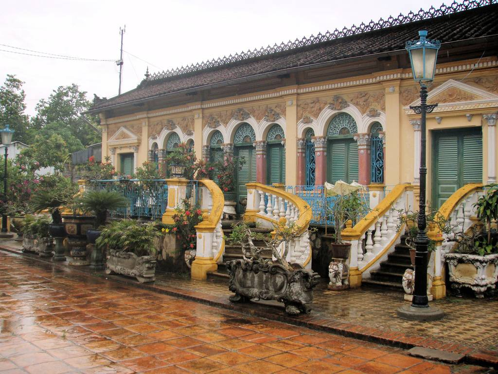 The beautiful Binh Thuy ancient house
