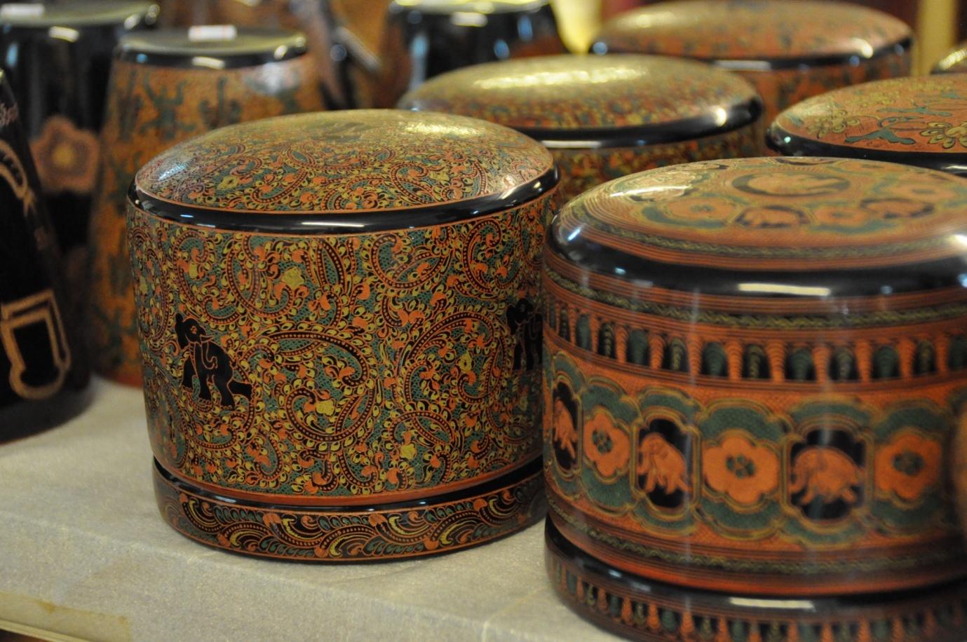 Burmese Traditional Lacquerware
