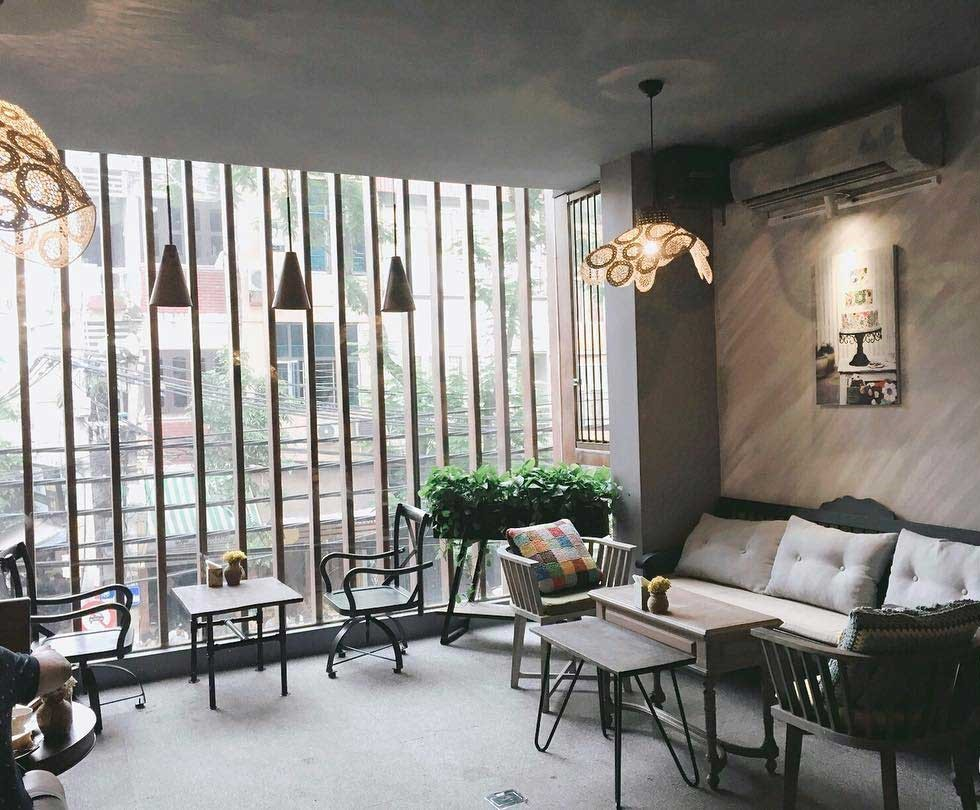 Lissom Parlour Cafe is an ideal destination in Hanoi in the afternoon
