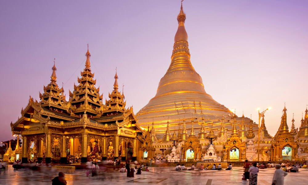 Shwedagon Pagoda in Yangon – the pride of Myanmar people