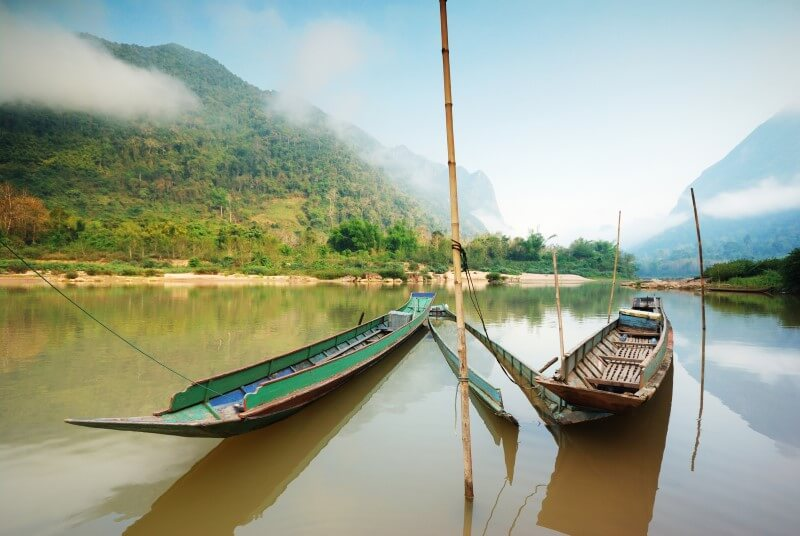 A trip to the Mekong River in Laos