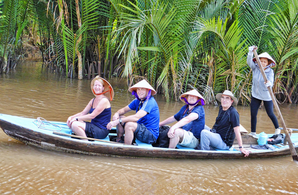 A visit to the Mekong Delta is what you should not miss