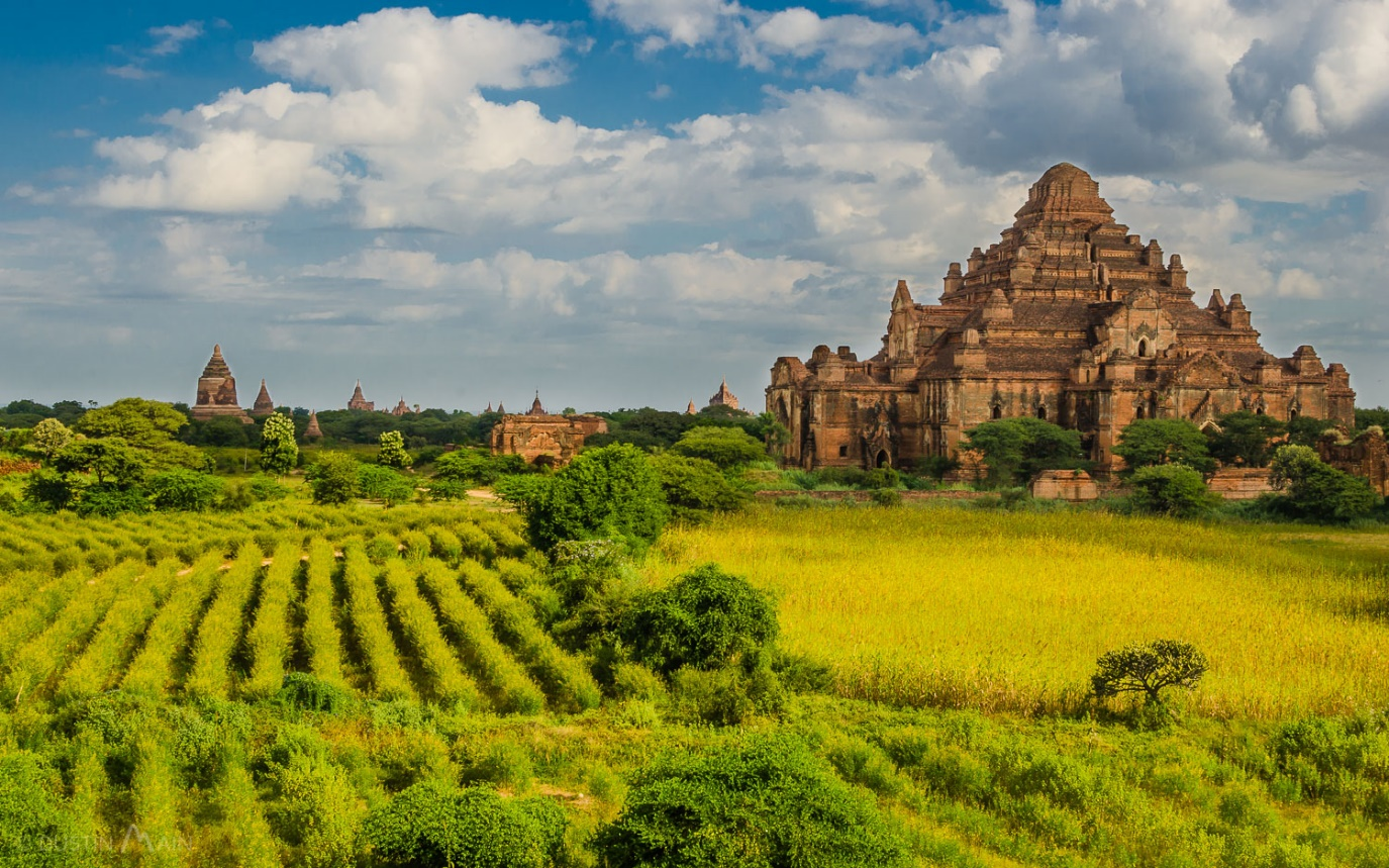 Bagan owns religious buildings with magnificent architecture