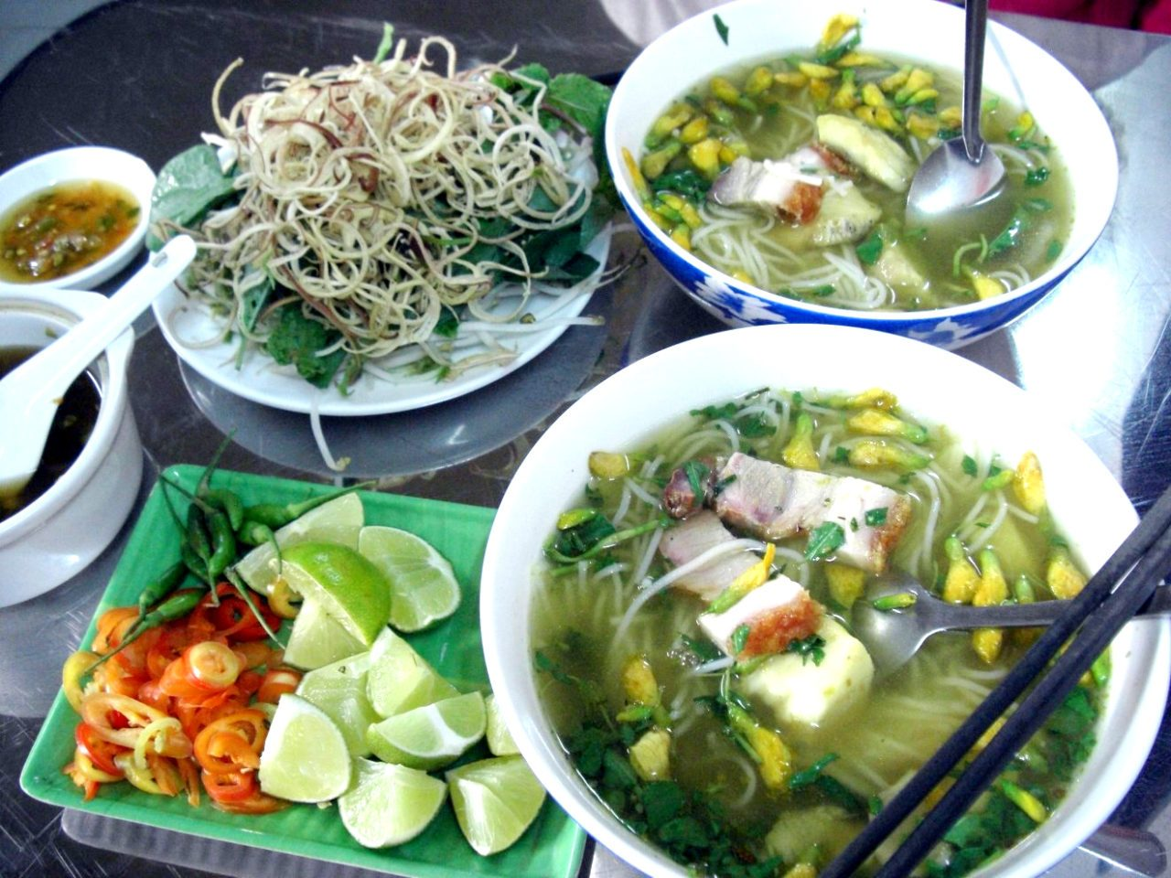 Chau Doc Rice Noodle Soup in Saigon