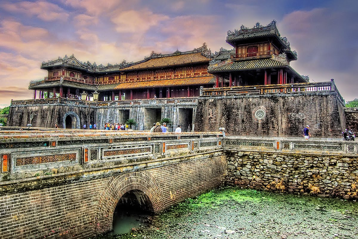 Hue Citadel is glorious architectural work of Vietnam