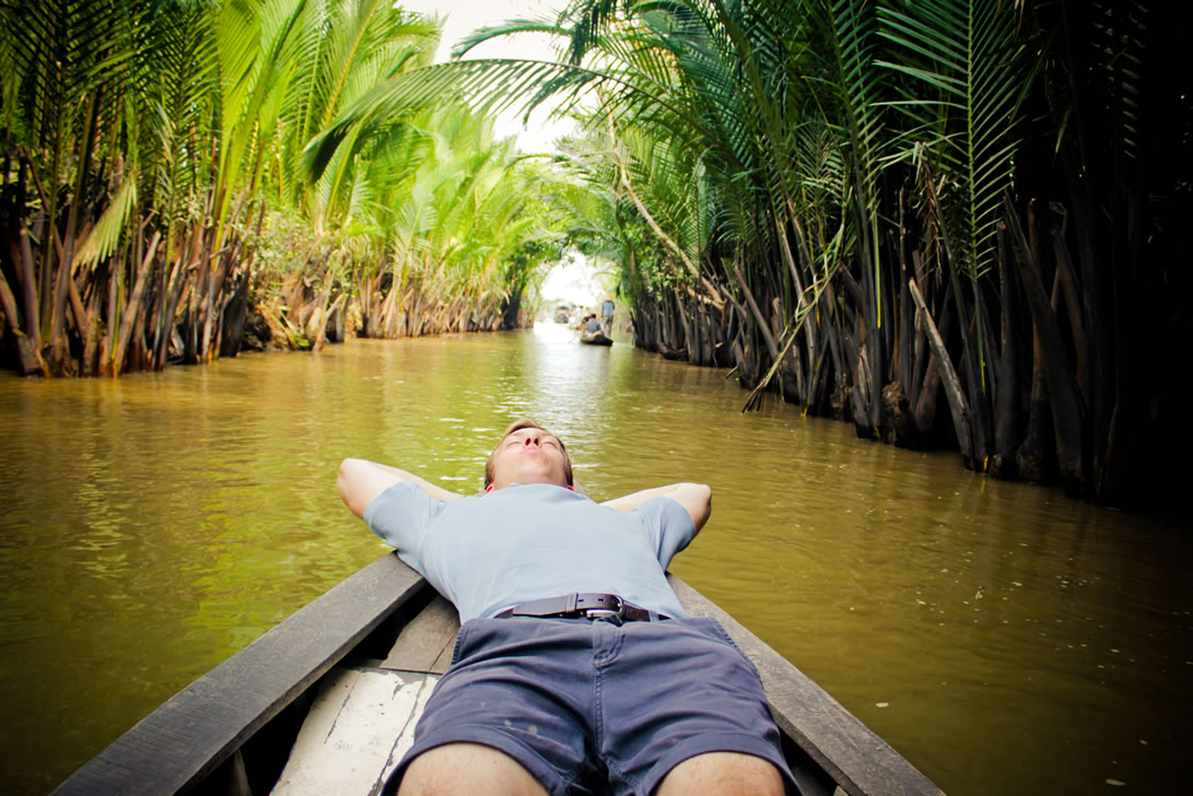 A visit to the Mekong River-an experience to remember