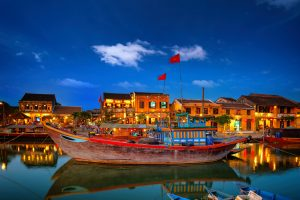 Hoi An is a lively colorful picture