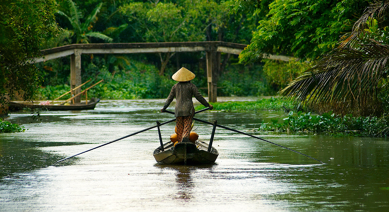 Mekong River – the center of local culture, economics and transportation route