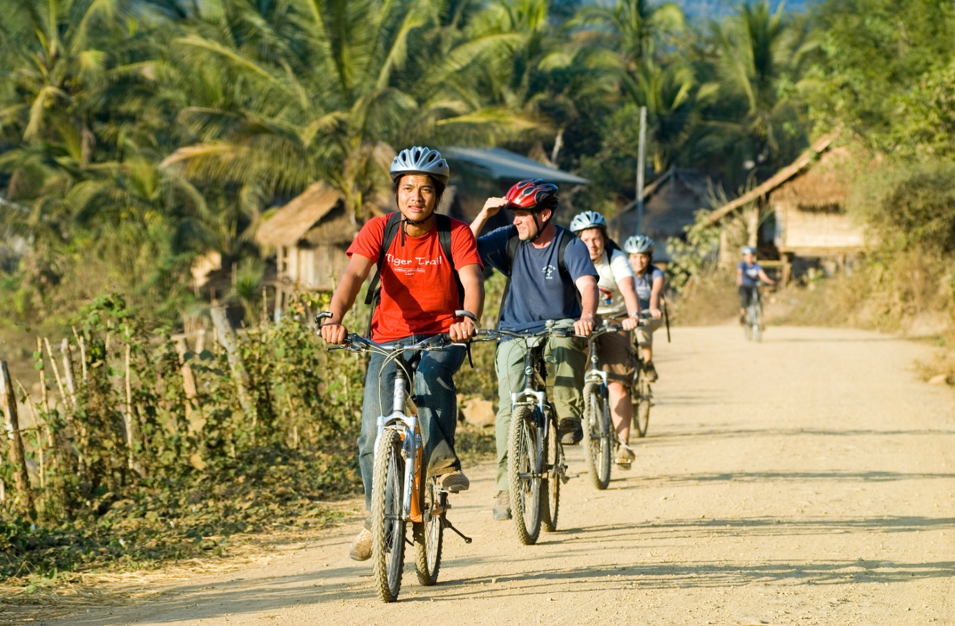 A cycling tour in Luang Prabang