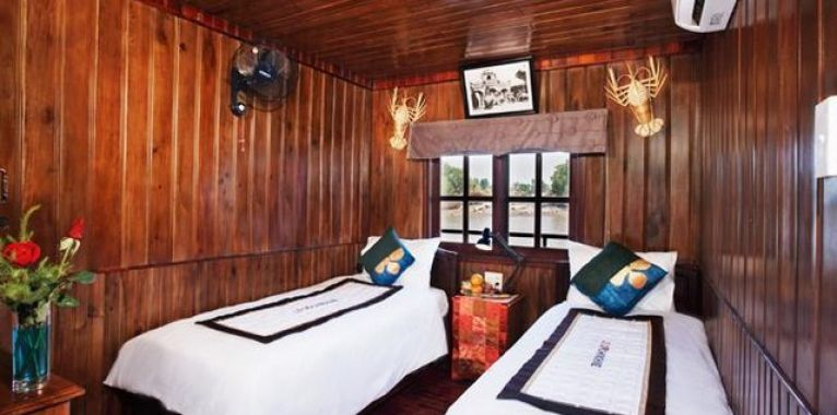Authentic-Mekong-Cruise-bedroom