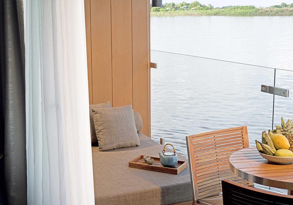 Auqa Mekong River Cruise balcony Thumbnail