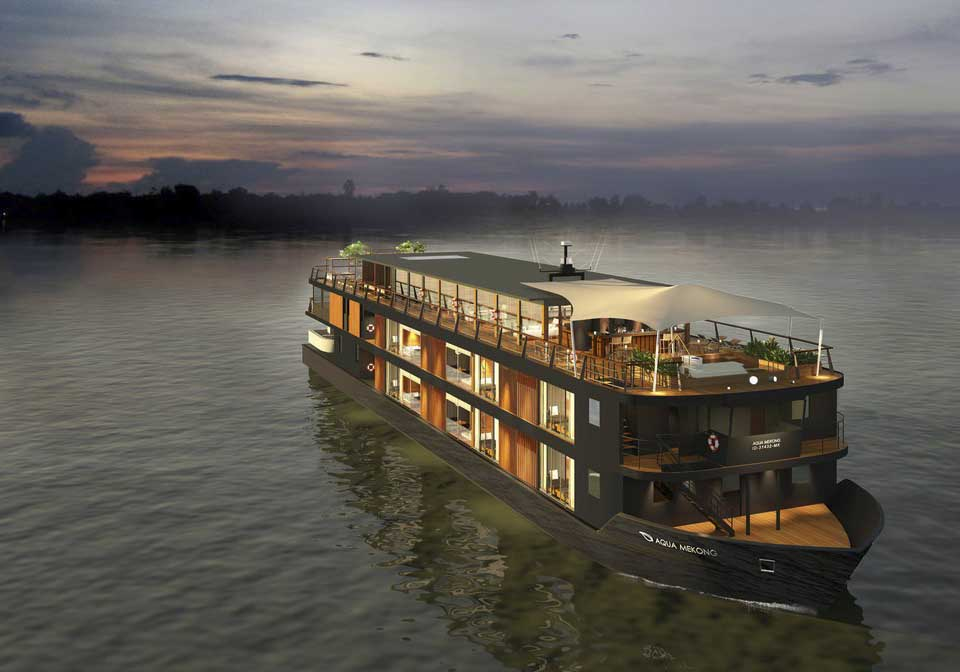 Auqa Mekong cruise view