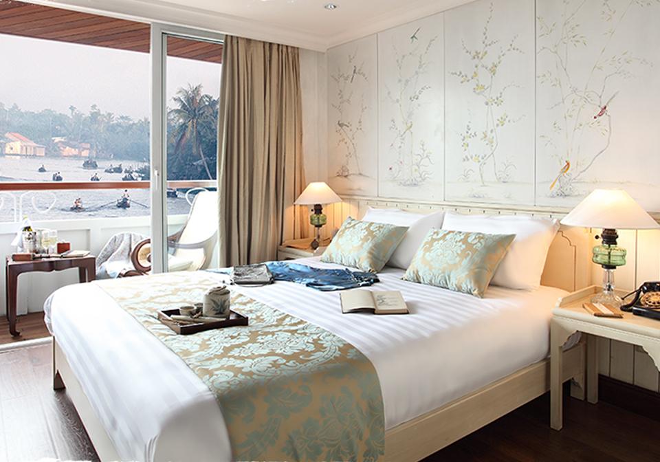 Jayavarman cruise view from bedroom