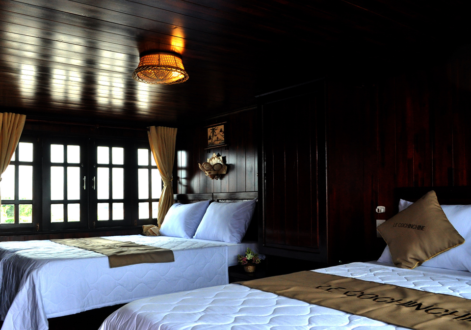 Le cochinchine cruise family cabin