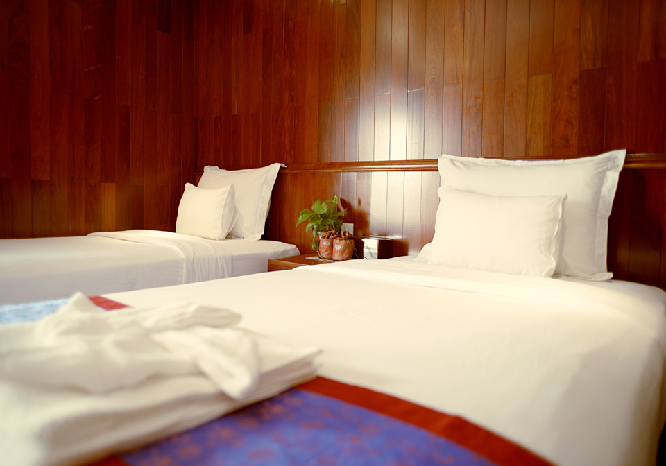 Mekong Gecgo twwin room