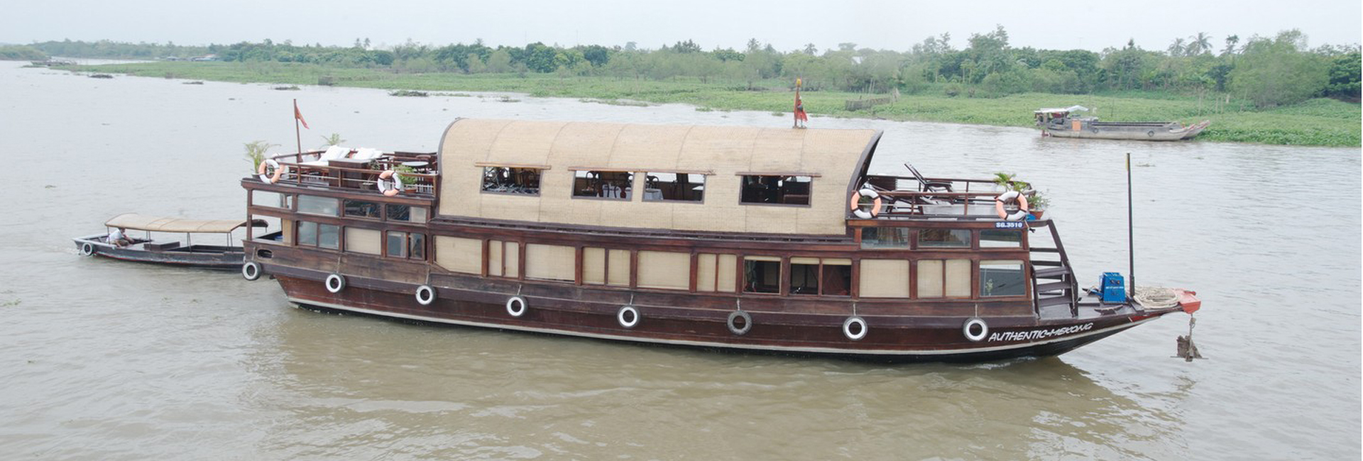 authentic Mekong cruise banner