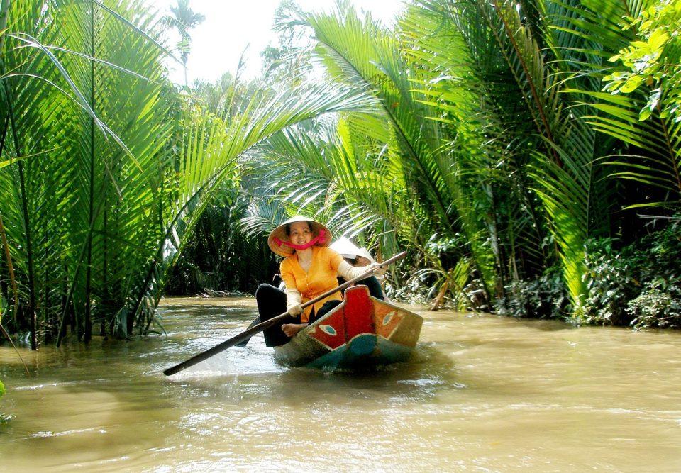 Boat trip- Ben Tre Vietnam