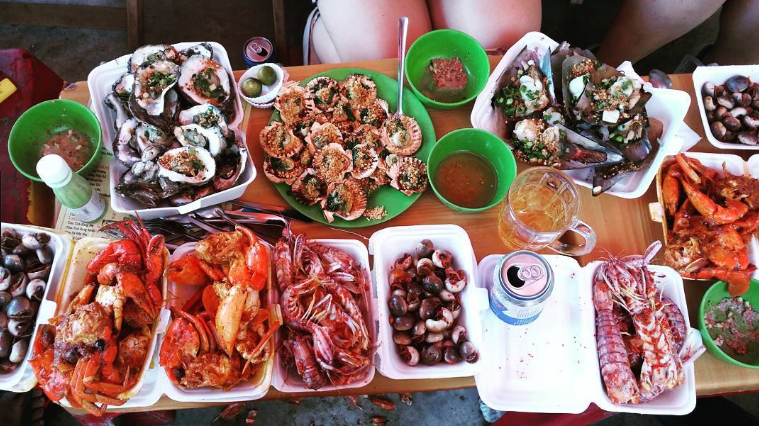 Seafood Can Gio Vietnam
